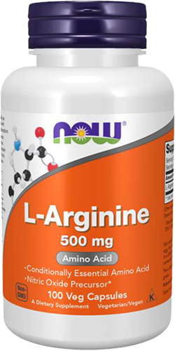 NOW Foods L-Arginine 500MG (100 caps)