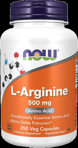NOW Foods L-Arginine 500MG (250 caps)