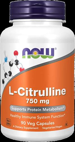 NOW Foods L-Citrulline 750MG (90 caps)