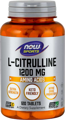 NOW Foods L-Citrulline 1200MG (120 tabs)