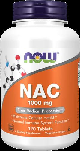 NOW Foods NAC 1000MG (120 tabs)