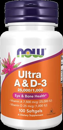 NOW Foods Ultra A & D3 (100 softgels)