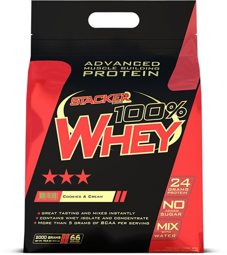 100% Whey Cookies & Cream (2000 gr)