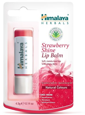 Himalaya Herbals Strawberry Shine Lip Balm (4,5 gr)
