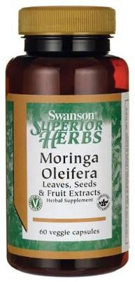 Swanson Moringa Oleifera (60 veg caps)