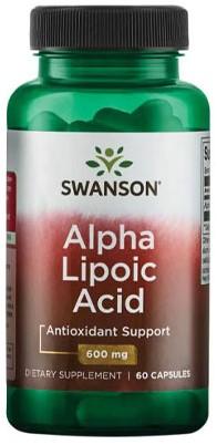 Swanson Alpha Lipoic Acid (60 caps)