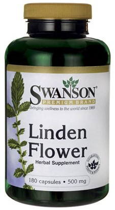 Swanson Linden Flower 500mg (180 caps)