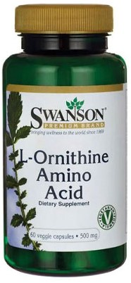 Swanson L-Ornithine 500mg (60 veg caps)