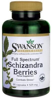 Swanson Schizandra Berries 525mg (90 caps)