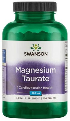 Swanson Magnesium Taurate 100mg (120 tabs)