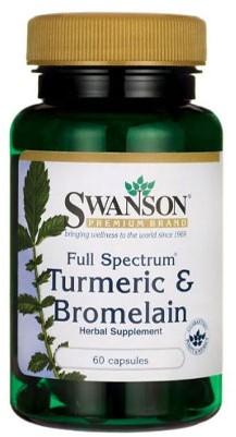 Swanson Turmeric & Bromelain (60 caps)