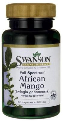 Swanson African Mango 400mg (60 caps)