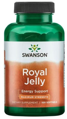 Swanson Royal Jelly Max Strength (100 softgels)