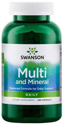 Swanson Multi & Mineral Daily (250 caps)