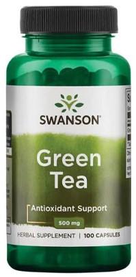 Swanson Green Tea 500mg (100 caps)