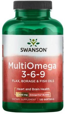 Swanson MultiOmega 3-6-9 (120 softgels)