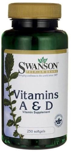 Swanson Vitamin A & D (250 softgels)