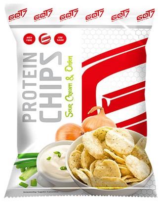 GOT7 High Protein Chips Sour Cream & Onion (6 x 50 gr)