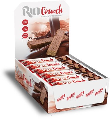GOT7 Rio Crunch Chocolate (24 x 20 gr) Ten minste houdbaar tot: 4-2021