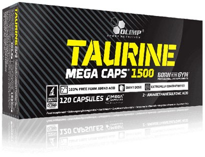 Olimp Taurine Mega Caps (120 caps)
