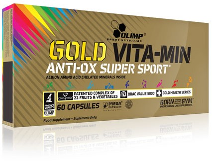 Olimp Vitamin Gold Anti-OX Super Sport (60 caps)