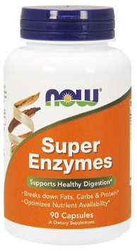 NOW Foods Super Enzymes (90 Tabs)