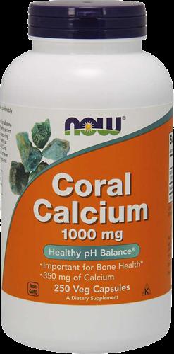 NOW Foods Coral Calcium 1000MG (250 caps)