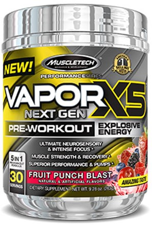 Vapor X5 Next Gen Fruit Punch Blast (228 gr)