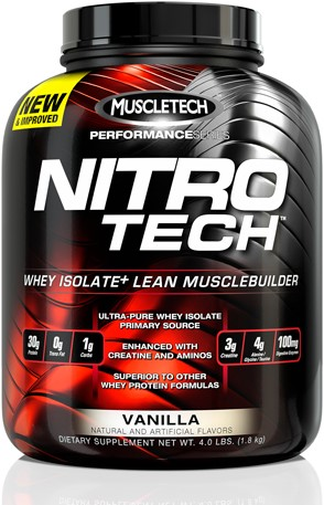 Performance Series Nitro Tech Vanilla (1800 gr)