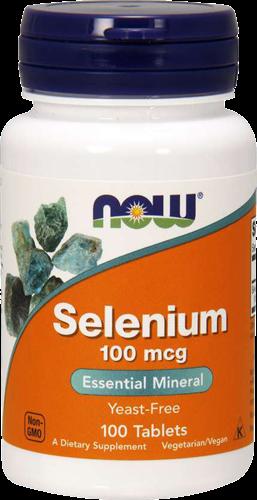 NOW Foods Selenium 100MCG (100 tabs)
