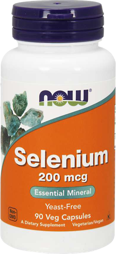 NOW Foods Selenium 200MCG (90 caps)