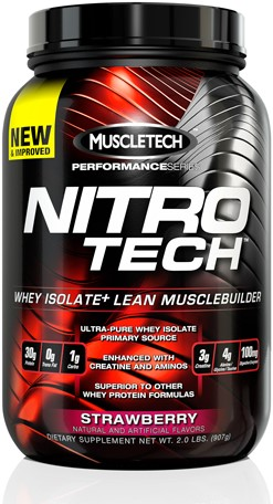 Performance Series Nitro Tech Strawberry (908 gr)