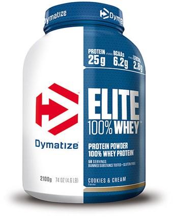 Dymatize Elite Whey Protein Cookies & Cream (2100 gr)