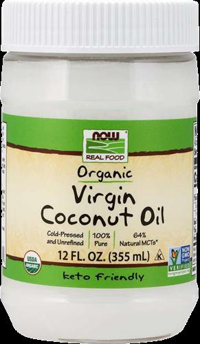 NOW Foods Organic Virgin Coconut Oil (355 ml)