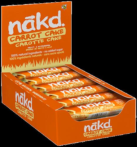 Nakd Bars Carrot Cake (18 x 35 gr)