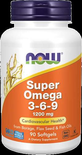 NOW Foods Super Omega 3-6-9 (90 softgels)