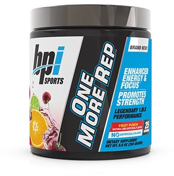 One more rep Fruit Punch (250 gr)