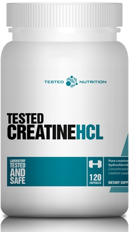 Tested Creatine HCL (120 caps)