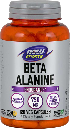 NOW Foods Beta-Alanine 750MG (120 caps)