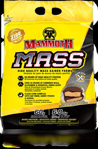 Mammoth Mass Chocolate Peanut Butter (6800 gr)
