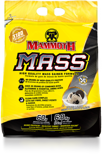 Mammoth Mass Cookies & Cream (6800 gr)