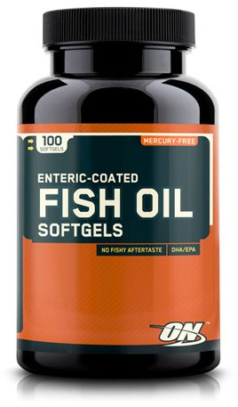 Fish Oil Softgels (100 caps)