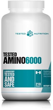 Tested Amino 6000 (210 caps)