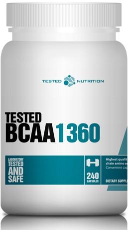 Tested BCAA 1360 (240 caps)