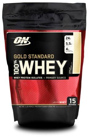 Gold Standard 100% Whey Vanilla Ice Cream (450 gr)