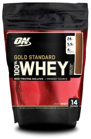Gold Standard 100% Whey Double Rich Chocolate (450 gr)