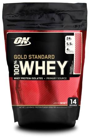 Gold Standard 100% Whey Strawberry (450 gr)