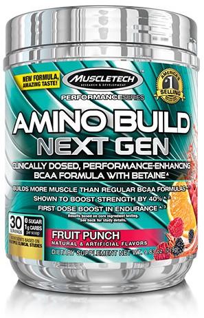 Amino Build Next Gen Fruit Punch (276 gr)