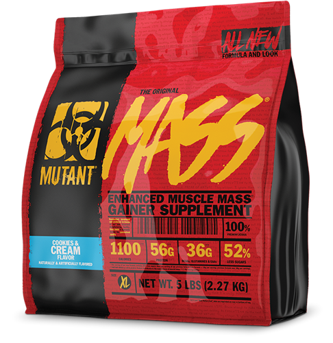 Mutant Mass Cookies and Cream (2270 gr)