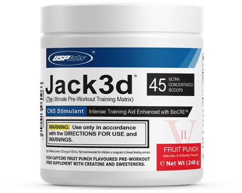 Jack3d Advanced Fruit Punch (248 gr)